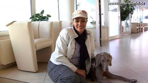 Alice Häuser und Maya Weimaraner sind nach Blutspende in der Blutspenderkartei der LESIA Tierklinik registriert